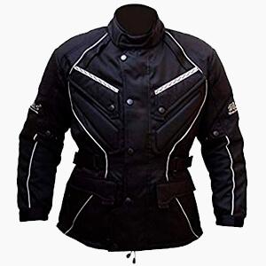 Chaquetas de moto textiles y cordura