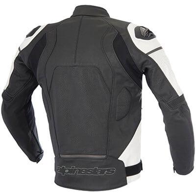 Espalda chaqueta de cuero Alpinestars Core