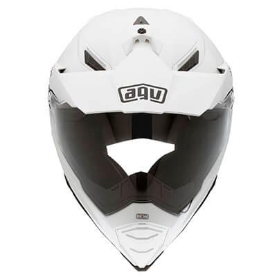 Imagen frontal casco de moto AGV AX-8 Dual EVO