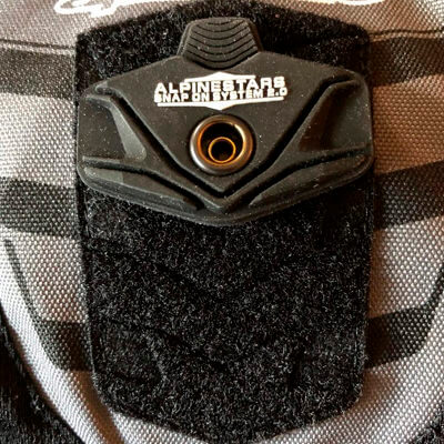 Sistema de protección de espalda extraible Alpinestars Core
