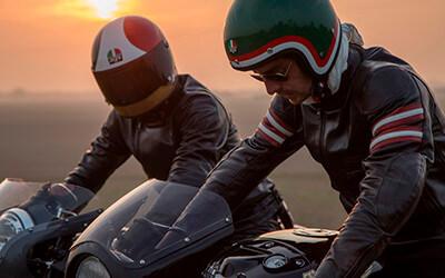 AGV. Marca italiana de cascos para motociclismo