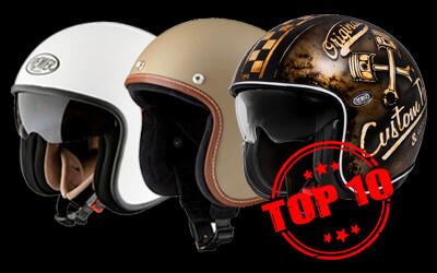 Top cascos jet más vendidos