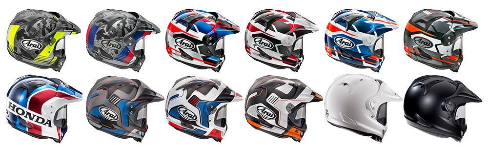 Gama de cascos Arai Tour-X4