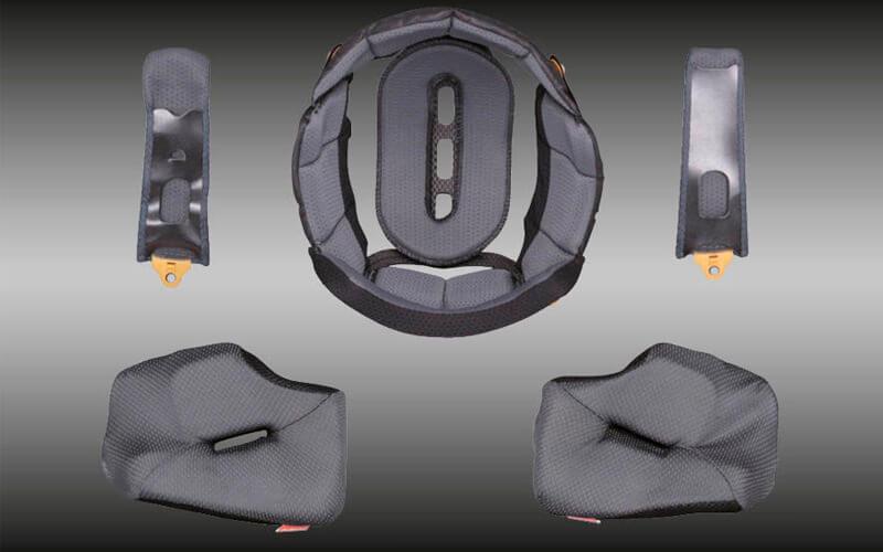 Forros interiores casco Arai Tour-X4